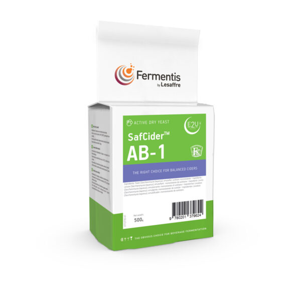 SafCider AB-1 cider yeast pack by fermentis