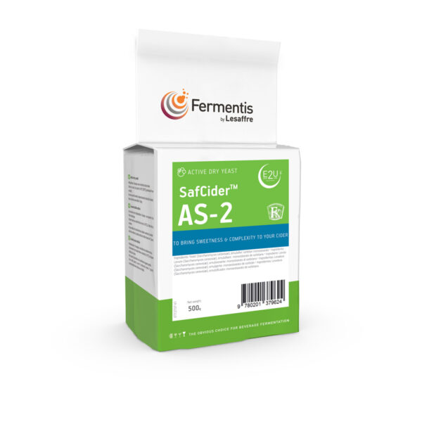 SafCider AS-2 cider yeast pack by fermentis