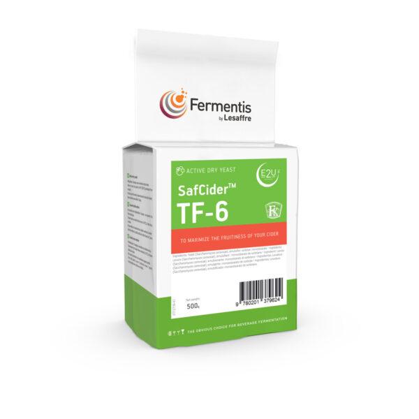 SafCider TF-6 cider yeast pack by fermentis