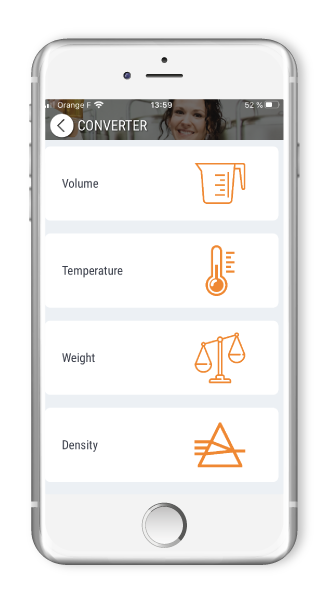 Application mobile Fermentis with information and events