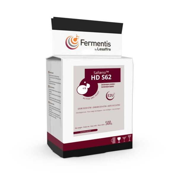 SafOeno HD S62 Levure sèche active pour viticulteurs par Fermentis
