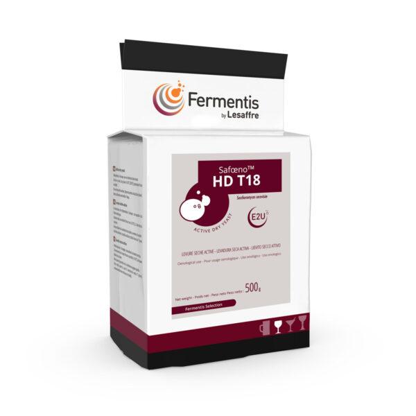 SafOeno HD T18 wine yeast pack by fermentis