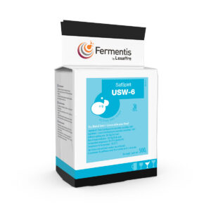 SafSpirit USW-6 active dry yeast for distillers by Fermentis