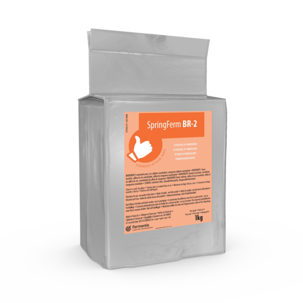 SpringFerm BR-2 yeast-fermentation aids for brewers by Fermentis